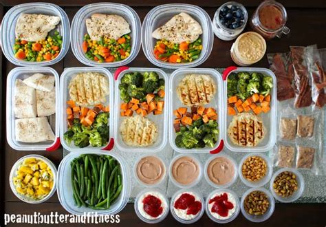 meal prep meal prep peanut butter and fitness