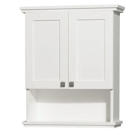 deep bathroom wall cabinets wyndham collection acclaim 25 in w x 30 in h x 9 1 8 in