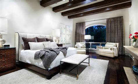 Exposed Roof Beams in 15 Bedroom Designs   Home Design Lover