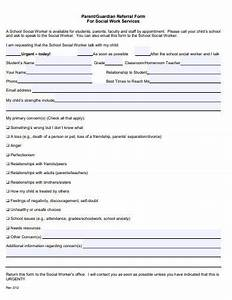 6  Social Work Referral Form Templates In Pdf