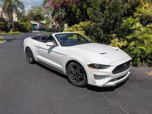 Ford Mustang Convertible EcoBoost: The official car of ______ : regularcarreviews