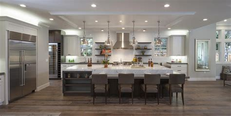 kitchens with large islands 50 gorgeous kitchen designs with islands designing idea