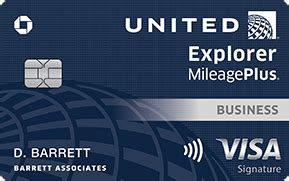 united explorer business credit card chasecom