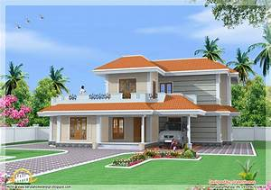 Most Beautiful Houses In Kerala Kerala Model House Design