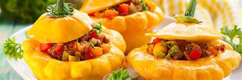 cuisiner des patissons pâtissons farcis aux légumes une recette végétarienne