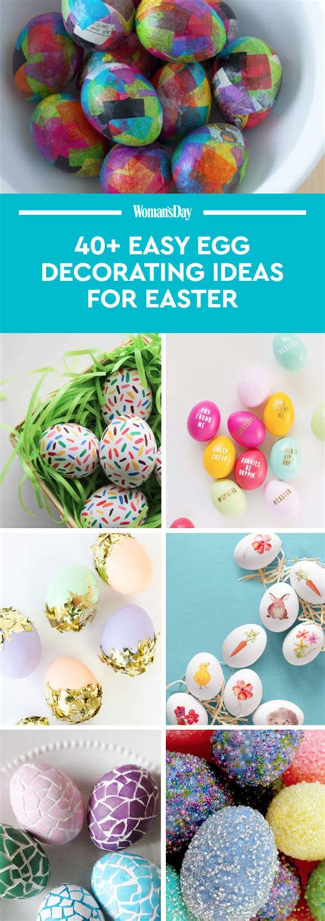cool easter egg decorating ideas creative designs