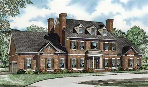 Colonial House Plan #153-1058
