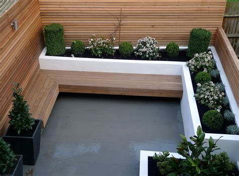 small modern garden design designer london garden blog