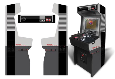xtension arcade cabinet dimensions 187 customer submitted custom permanent size nes