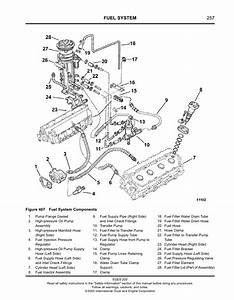 Diagram  International T444e Engine Diagram Full Version