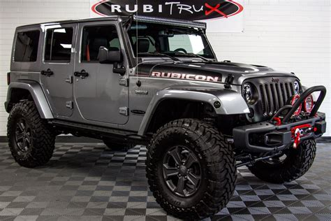 jeep unlimited 2017 jeep wrangler rubicon recon unlimited billet
