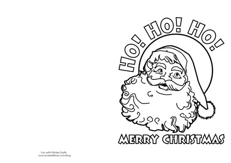 christmas card coloring pages  coloring home