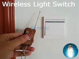 2018 Wireless U0026 Manual Momentary Remote Control Light