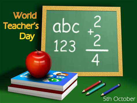 world teachers day computer desktop wallpaper