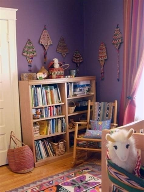 purple kids room design ideas kidsomania