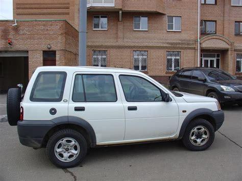 land rover freelander 2000 2000 land rover freelander pictures