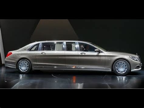 The presentation includes stylish emblems and letterings that document this legend visually. Mercedes Maybach Pullman World Premiere Commercial CARJAM TV HD 2016 - YouTube