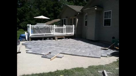 nicolock paver patio installation hanover pa