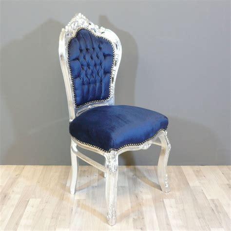 chaise d aisance prix baroque blue chair chairs baroque