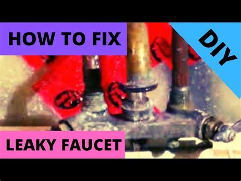 fix leaky laundry tub faucetpart replace valve seat