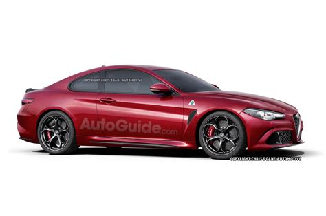 2017 Alfa Romeo Giulia Coupe, Wagon Rendered » Autoguide