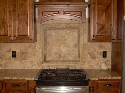 subway travertine mosaic backsplash tile   kitchen