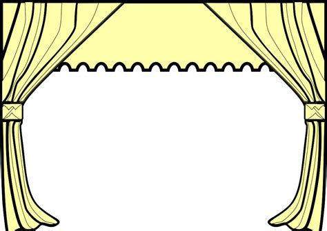 stage clipart black and white drama black and white clipart 38