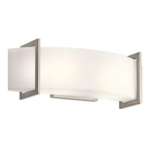 kichler ni  light linear wall sconce bathroom