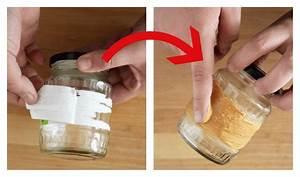 Etiketten Entfernen Glas : mit diesem genialen trick entfernt ihr etiketten ohne ~ Kayakingforconservation.com Haus und Dekorationen
