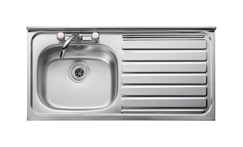 bowl drainer kitchen sink leisure contract lc105r 1 0 bowl 2th stainless steel 9610