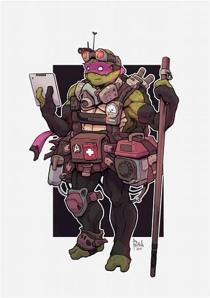 Tmnt Geek Alex Redfish Donatello Tyrant Via