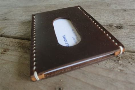 Personalized Horween Leather Business Card Holder On Etsy Business Model Canvas Journal Article Plan Report Sample Pdf Plans Toronto Bakery Or Ideas Template Australian Government
