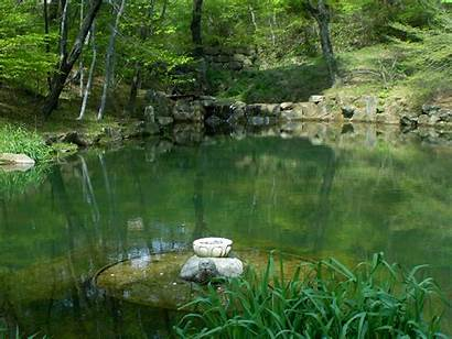 Pond Reflection Haeinsa Monastery Place Temple Commons