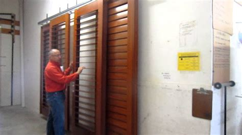 sliding shutters interior exterior application by kirtz