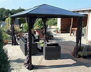 die besten 25 gartenpavillon 3x4 ideen auf pinterest With französischer balkon mit garten pavillon alu 3x4