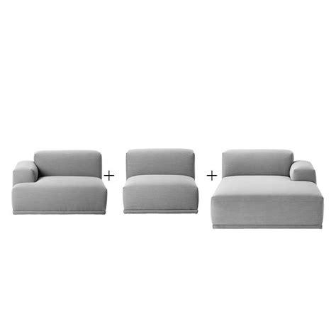 canap lounge connect canapé lounge angle méridienne muuto