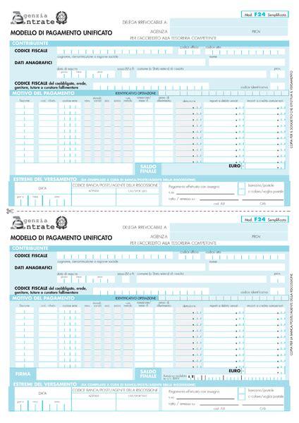 Rinnovo Delega Cassetto Fiscale by File Modello F24 Semplificato Png