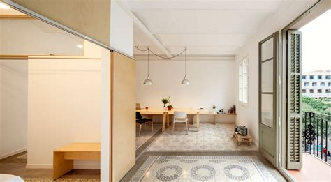 gallery  apartment renovation  eixample  barcelona