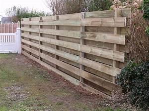 Palissade De Jardin : palissade bois barriere de jardin chromeleon ~ Melissatoandfro.com Idées de Décoration