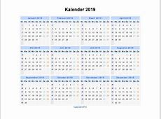 Kalender 2019 Landscape Download 2019 Calendar Printable