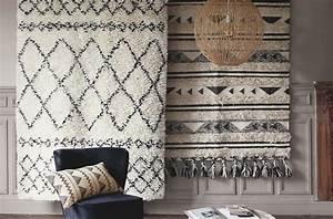 ou acheter un tapis style berbere en laine ou en With tapis berbere avec canapé en feutre