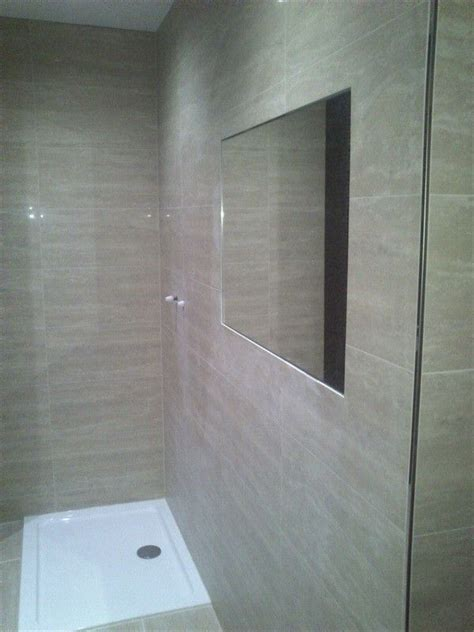 Inset Bathroom Mirror by Tiled In Mirror Search Bathroom Ideas