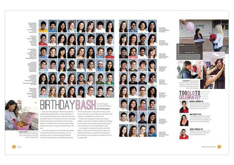 yearbook layouts images  pinterest yearbook