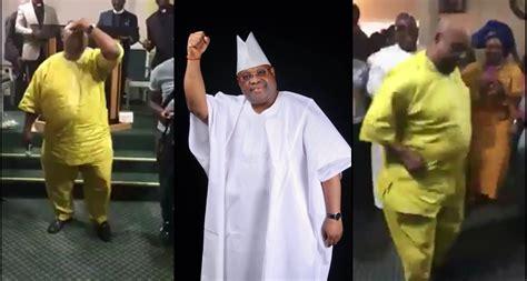 Davido's Uncle, Senator Ademola Adeleke Shows Off His
