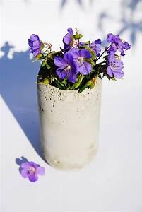 Beton Vase Selber Machen : zum selbermachen beton vase expli blog ~ Markanthonyermac.com Haus und Dekorationen