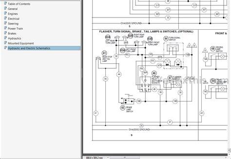 case    service repair manual forklift