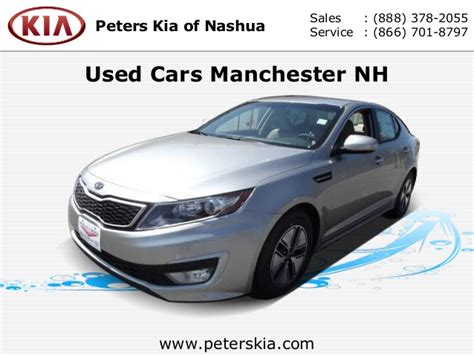 Peters Kia Of Nashua by Used Cars Manchester Nh Peters Kia Of New Hshire