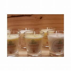 Bougie Fleur De Coton : bougie artisanale fleur de coton 50 ml mandelines ~ Teatrodelosmanantiales.com Idées de Décoration