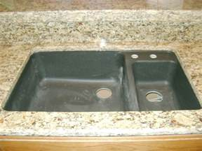 black granite composite sink home design