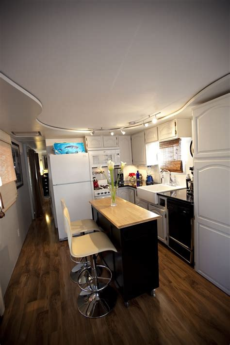remodeled kitchens with islands kitchen remodel in single wide mobile home ideas